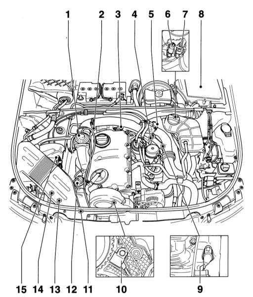 a4 объм1 6 схема двигателя